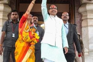 The Congress is up in arms against the Shivraj Singh Chouhan government's decision to hold a cabinet meeting on Wednesday, before the results are declared on December 11 for the November 28 Madhya Pradesh assembly elections.