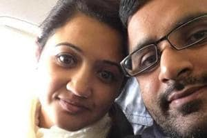 The husband of a 34-year-old Indian-origin woman found dead in her home in northern England earlier this year has been found guilty of her murder and sentenced to a minimum of 30 years in jail