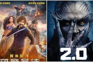 Rajinikanth's 2.0 and Aamir Khan's Thugs of Hindostan will release in China in Summer 2019 and December 2018 respectively.