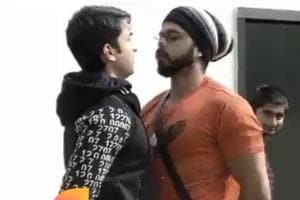 Sreesanth and Rohit Sochanti had a fight.