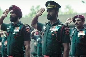 Vicky Kaushal plays the role of a special forces commander-in-chief in Uri, The Surgical Strike.