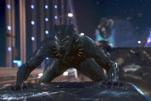 This image released by Disney shows a scene from Marvel Studios