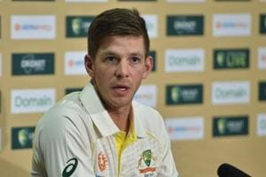 File image of Tim Paine.