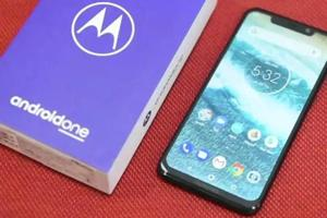 Motorola One Power comes with 5,000mAh battery.