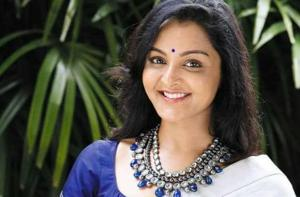 Actor Manju Warrier suffered minor injuries on set while filming an action sequence.