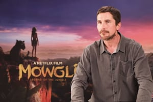 Netflix's Mowgli: Christian Bale on how Bagheera might be his biggest transformation...