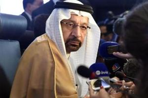 """Khalid Al-Falih, Saudi Energy and Oil Minister.  OPEC is looking for a """"sufficient"""" cut in oil production among its members in order to prop up plunging crude prices, Saudi Arabia's oil minister said on Thursday."""