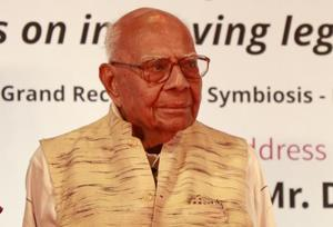 Ram Jethmalani and Bharatiya Janata Party on Thursday approached a Delhi court with a joint application to end a pending suit relating to his expulsion from the BJP.