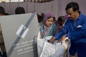 Telangana elections 2018 Live updates: 67% polling till now, voters still in queues.