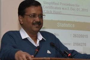 Delhi chief minister Arvind Kejriwal has promised to transform the national capital's unauthorised colonies to look like London and Paris. He said this at an event seeking support for the Aam Aadmi Party in the Lok Sabha polls.