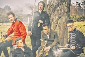 Worldservice Project, which performed at this fest, is an award-winning British punk jazz group.