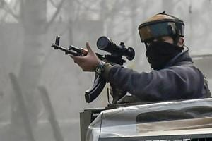 Police and army launched the operation based on reports about the presence of militants. However as the operation was going on, militants opened fire on the forces, triggering an encounter.