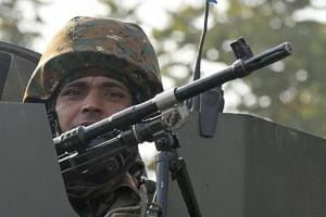 The encounter happened in the early hours of Saturday morning. One soldier died while three others have been injured.