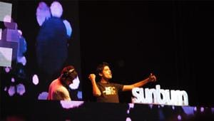 Sunburn festival is taking place in the Oxford golf resort,between December 29 to 31.