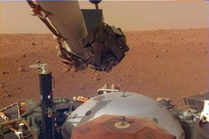 In this image obtained from NASA, InSight