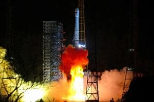 The blast-off marked the start of a long journey to the far side of the moon for the Chang'e-4 mission, expected to land around the New Year to carry out experiments and survey the untrodden terrain.