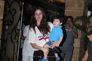 Kareena Kapoor's son Taimur won a gold medal at the sports day celebrations.