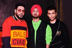 Badshah and Diljit Dosanjh will appear on the new episode of Koffee wIth Karan.