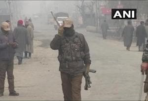 Encounter between security forces and militants continues for second day in Jammu and Kashmir