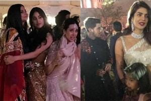 A host of celebrities including Janhvi Kapoor, Nick Jonas and Priyanka Chopra attended Isha Ambani's sangeet in Udaipur.