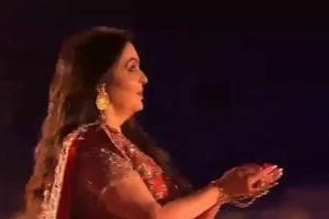 The entire Ambani family performed at the sangeet in Udaipur.