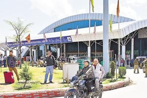 A view of the Srinagar airport, which CISF is auditing.