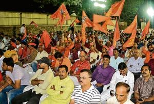 At least 4,000 people were present at the VHP rally organised in the city on Sunday.
