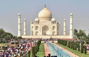 In yet another ticket hike at Taj Mahal this year, visitors from Monday will have to pay another Rs 200 to enter the main mausoleum, which houses replicas of Mughal emperor Shah Jahan and his wife Mumtaz Mahal's graves.