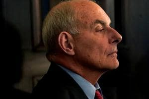 """White House Chief of Staff John Kelly will step down by the end of this year, US President Donald Trump has said, confirming that he will announce a replacement """"over the next day or two""""."""