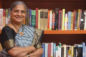 Sudha Murthy is the author of more than 15 books. (HT Photo/ Jagadeesh NV)