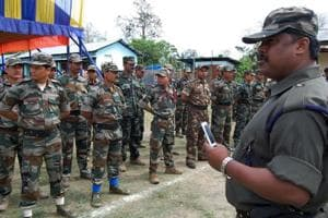 File photo of an ULFA cadre in 2011.