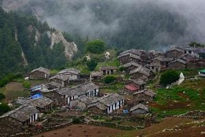 Of nearly 16,500 villages in Uttarakhand, as many as 734, mostly in the hilly areas, are totally depopulated.