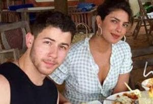 Priyanka Chopra and Nick Jonas at their Goa vacation, from before their wedding.