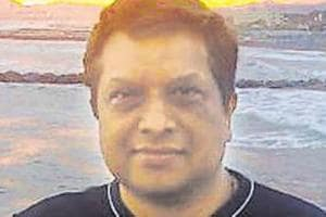 Police are questioning a politician Sachin Pawar and a suspended constable Dinesh Pawar in connection with the killing of Mumbai diamond merchant Rajeshwar Udani (in photo).