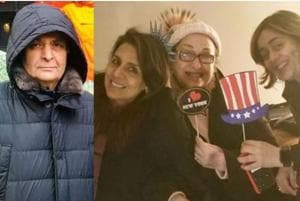 Actor Rishi Kapoor and wife Neetu Kapoor are in the US.