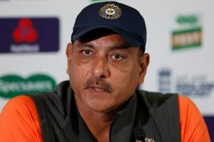 India head coach Ravi Shastri during a press conference.