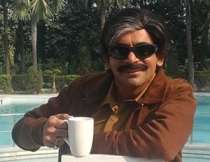Sunil Grover in Lucknow.