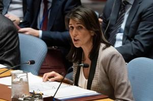 US Ambassador Nikki Haley will step down as the UN envoy at the end of this year.