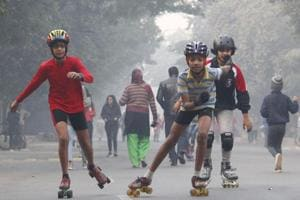 Pedestrians, cyclists and children took over the streets of Gurugram on Sunday to mark the fifth anniversary of Raahgiri Day. Transport experts say that the initiative helps reclaim public space that is lost to the excessive use of vehicles.