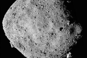 Asteroid Bennu where signs of water have been discovered