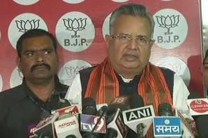 Outgoing Chhattisgarh chief minister Raman Singh took responsibility for the BJP's poor show in the state assembly elections.
