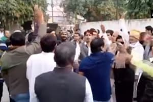 Rajasthan Election Results 2018: Congress workers celebrate