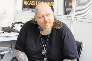 Paul Booth was recently inDelhi for the Heartwork Tattoo Festival.