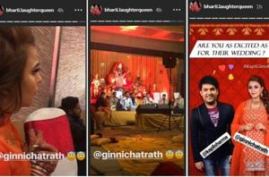 Kapil Sharma and Ginni Chatrath pre-wedding festivities have started in Amritsar.