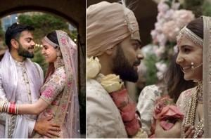 Anushka Sharma and Virat Kohli got married in Italy last year and are celebrating .