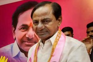 """Telangana CM K Chandrasekhar Rao was the first chief minister from a non-NDA party to openly support PM Narendra Modi's """"one nation, one poll"""" call."""
