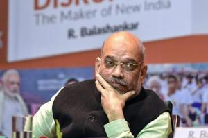 BJP President Amit Shah said Modi has displayed firmness and given a new model of governance without diluting the democracy.