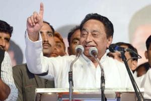 """Madhya Pradesh election results 2018: Congress leader Kamal Nath on Tuesday said his party will form a government in Madhya Pradesh with a """"full majority"""" in the 230-member Assembly."""