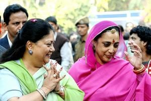 Whatever be the outcome of the elections, experts say even if Raje wins, her victory margin may reduce.