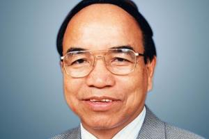 Mizo National Front chief Zoramthanga , whose party won a majority in the Mizoram assembly elections, dethroning the Congress from the last state it ruled in the northeast(File Photo)